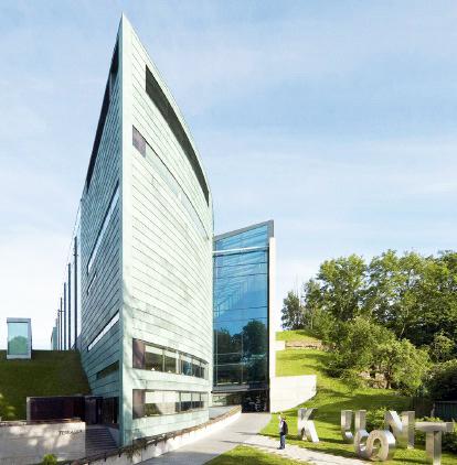 Das größte und modernste Kunstmuseum im Baltikum steht in Tallinn - Estland.