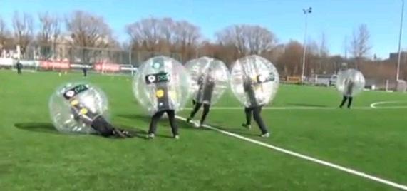 Paf-Ball - Neue Trendsportart in Estland.